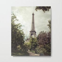 Vintage Paris Metal Print