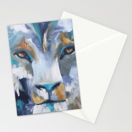 Nightwatch Lion Stationery Cards