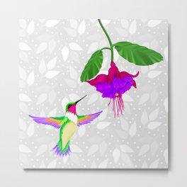 Fantasy Hummingbird #4 Metal Print