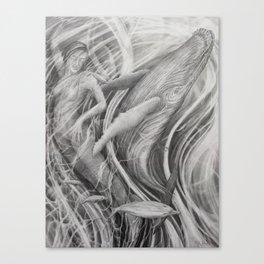 Whale Dream Canvas Print