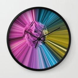 Marabou Colours Splash Wall Clock
