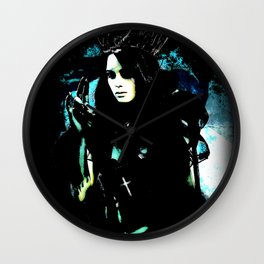 Queen of the damnation Wall Clock