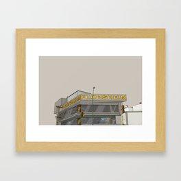 REALIDADES: 003 AGUASCALIENTES E INSURGENTES  Framed Art Print