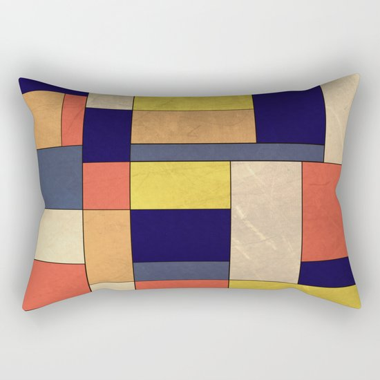 Abstract #350 Rectangular Pillow
