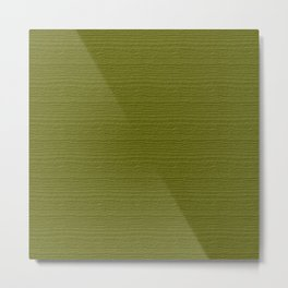 Woodbine Wood Grain Color Accent Metal Print