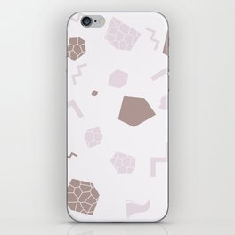 SHAPES PINK iPhone Skin