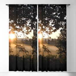 Peeking Through the Trees Blackout Curtain