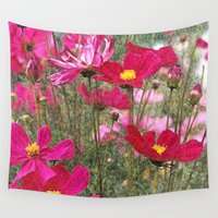 cosmos Wall Tapestries featuring Cosmos by Cherie DeBevoise
