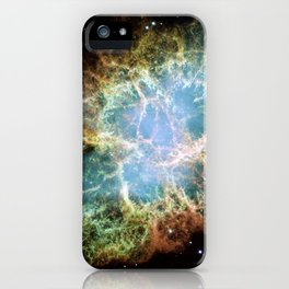 anatomy of an interstellar crab | space #15 iPhone Case