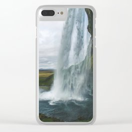 Raining Water Clear iPhone Case