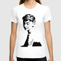 hepburn T-shirts featuring Audrey Hepburn by Geryes