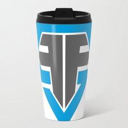 Finish Strong Fitness Logo Travel Mug