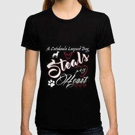 Catahoula Leopard Dog Dad Christmas funny giftShirt T-shirt