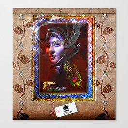 """Tehran """"The Peacock Throne"""" Canvas Print"""