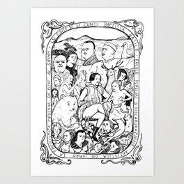 Basile Art Print