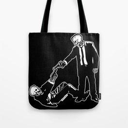 Mr White & Mr Orange Tote Bag