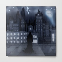 I am the night Metal Print