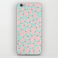 Seg African Blush Mint iPhone Skin