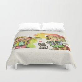 Thank you (Buyer & follower) Duvet Cover