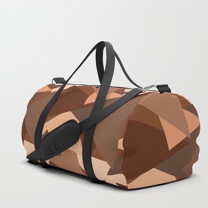 Chocolate Caramels Triangles Duffle Bag by gx9designs  9fdf58e867d12