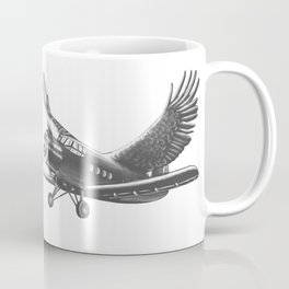 Airplane with eagle wings Coffee Mug