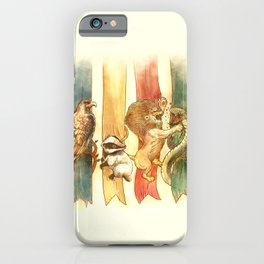 House Brawl iPhone Case