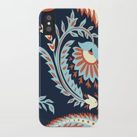 flora iPhone & iPod Cases featuring Flora by Tracie Andrews