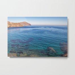 Almeria Sea in Spain Metal Print