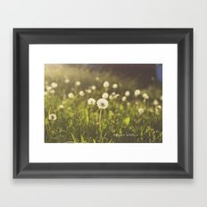 As you wish... Framed Art Print