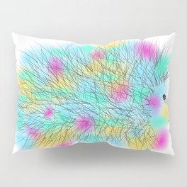 Punky Hedgehog Pillow Sham