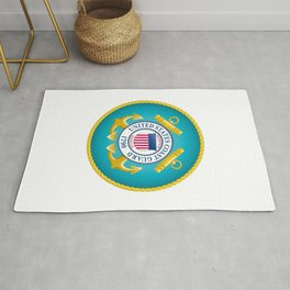 Seal of the United States Coast Guard Rug