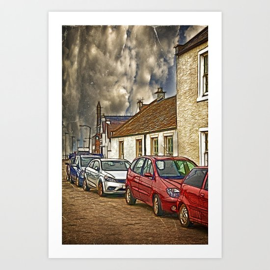 Fisher Street Art Print