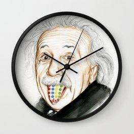 Tongue Twister Wall Clock