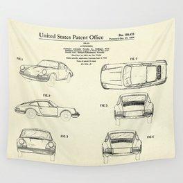 Automobile Porsche-1964 Wall Tapestry