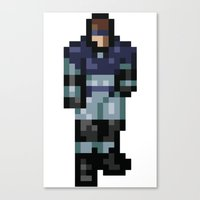 metal gear Canvas Prints featuring Metal Gear by Elegant As Phoque