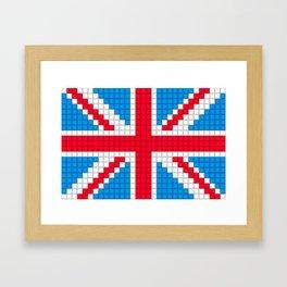 Union Jack by Qixel Framed Art Print