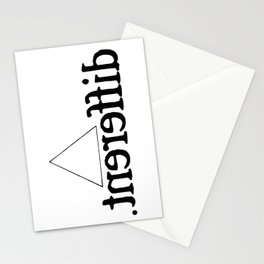 Im Different T-Shirt Stationery Cards