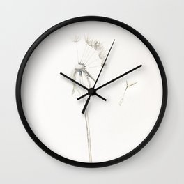 Won't you please grant this wish Wall Clock