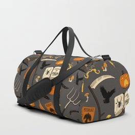 Scarecrow pattern Duffle Bag