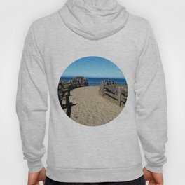 Footprints to the Beach Hoody