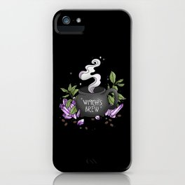 Witch's Brew iPhone Case