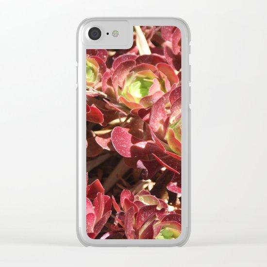 Natural carpet Clear iPhone Case