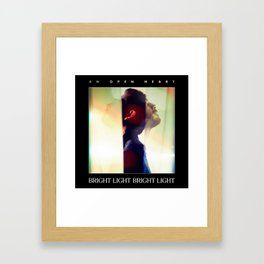 An Open Heart Framed Art Print