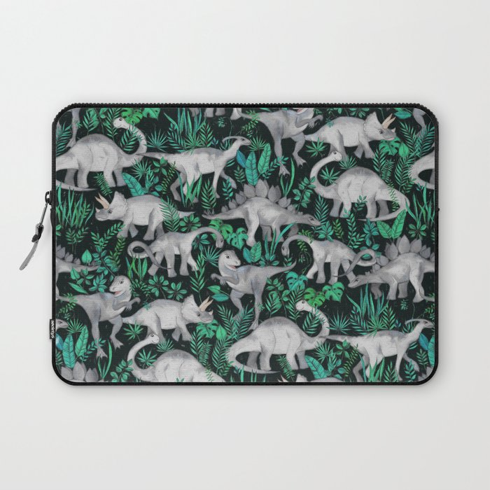 Dinosaur Jungle Laptop Sleeve