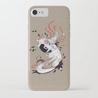 okami iPhone & iPod Cases featuring OKAMI RIBBONS by Rubis Firenos