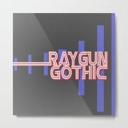 raygun gothic Metal Print