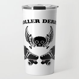 Roller Derby Wings Travel Mug
