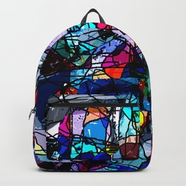 Hinterglasmalerei Backpack