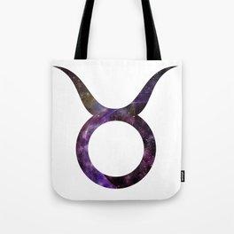 Galactic Taurus Tote Bag