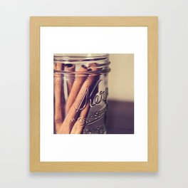 Cinnamon Sticks 2 Framed Art Print